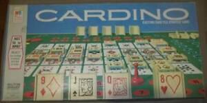 Vintage Cardino Board Game- 1970