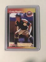 1989 Donruss Craig Biggio Houston Astros #561 Baseball Card