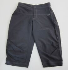 She Beest Grey Stretch Adjustable Waist Hiking Workout Cycling Shorts Size Xs
