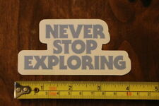 The North Face Never Stop Exploring Sticker Decal New
