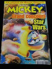 WALT DISNEY LIVRES MAGAZINES LE JOURNAL DE MICKEY STAR WARS N° 2605 EF