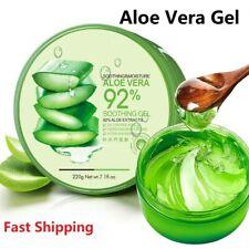 PURE Aloe Vera Gel Soothing Moisturizer Lotion Cream Skin Care 220g