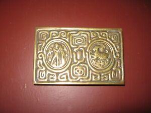 Tiffany Studios Bronze Zodiac Desk  Box