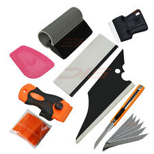 Automobile Car Vinyl Wrap Trim Window Tint Works, Car Squeegee Set Kit Tool  UK