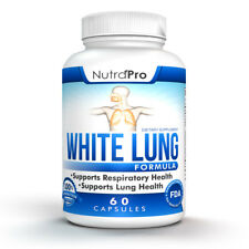 White Lung by NutraPro - Lung Cleanse & Detox. 1 Month Supply