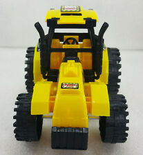 YELLOW & BLACK FARM SPEED TOY TRACTOR *FREE UK SHIPPING