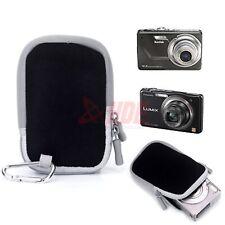 Black Digital Camera Soft Case Kodak Canon Nikon Sony Olympus Universal Case