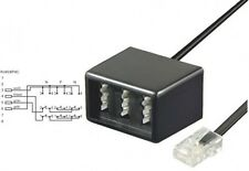 goobay telefon adapter kabel rj45 stecker an tae nfn kupplung isdn verteiler neu