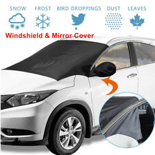 Multipurpose Car Windshield&Mirror Snow Sun Cover Ice Frost Protector Easy Carry