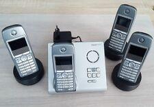 Siemens Gigaset S445 Analog Telefon mit Anrufbeantworter QUATTRO