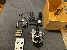 Nikon M 35s Afm Microscope Camera Microflex Amp Carl Weiss Microscope In Wood Box