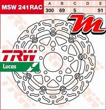 Disque de frein Avant TRW Lucas MSW 241 RAC pour Suzuki GSXR 1000 WVBZ 2003-2004