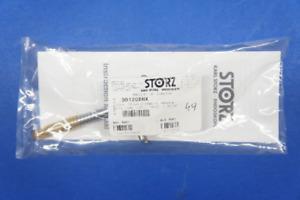 Karl Storz 30120EMX Scarfi Trocar W/Cannula, 6mm x 6cm, W/Silicone Leaflet Valve