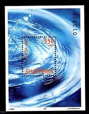 SELLOS TEMA EUROPA ALBANIA 2001  HB 1v. EL AGUA