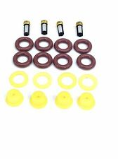 FUEL INJECTOR REPAIR KIT O-RINGS, CAPS, SPACER FILTERS PORSCHE BMW PONTIAC L4
