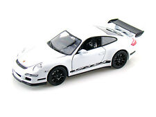 WELLY 1:32 DISPLAY PORSCHE 911 (997) GT3 RS Diecast Car White Color