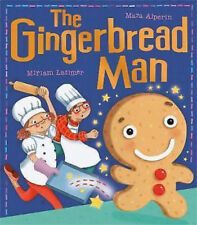Preschool Fairytale Story Book - My First Fairy Tales: THE GINGERBREAD MAN - NEW