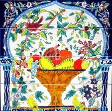 DECORATIVE CERAMIC TILES: MOSAIC PANEL KITCHEN BATH POOL PATIO WALL FLOORING ART