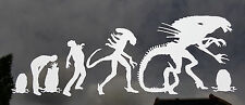 Aliens - Alien Evolution - Vinyl Decal - Multiple Colors
