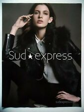PUBLICITE-ADVERTISING :  SUD EXPRESS  2015 Mode
