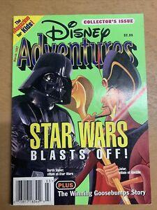 Disney Adventure Magazine - Star Wars Blasts Off! - March 1997