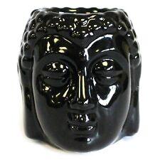 Cabeza de Buda Quemador de Aceite - Negro - Nuevo
