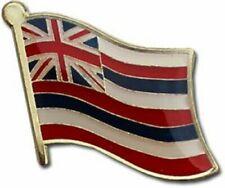 State of Hawaii HI Flag Bike Motorcycle Hat Cap lapel Pin