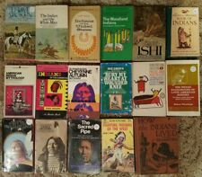 NATIVE AMERICAN Books, Ephmera, Education Texts / Mixed Lot of 81 Books