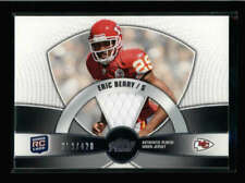 ERIC BERRY 2010 TOPPS PRIME ROOKIE USED WORN JERSEY #353/420 AX1263