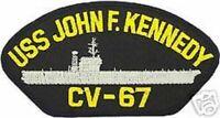 USS JOHN F. KENNEDY CV-67  NAVY CARRIER BLACK PATCH