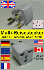 Reiseadapter / Reisestecker / Steckdose Adapter  Dubai, Arabische Emirate, Oman