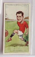 Harry Chambers Liverpool Footballers Caricatures 1926 John Player Card (B5)