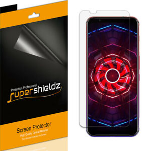 6X Supershieldz Clear Screen Protector Saver for ZTE Nubia Red Magic 3 and 3S