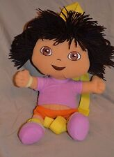 "12"" Dora The Explorer Plush Doll Backpack Show Character Girls Toys Purse Bag"