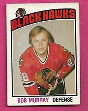 1976-77 OPC # 309 HAWKS BOB MURRAY  ROOKIE EX+ CARD (INV# C3227)