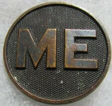 "WW1 ""ME"" Collar Disc with nut"