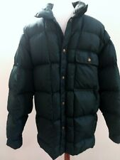 Vintage Men's Woolrich Jacket Puffer Quilted Down Green Size Large
