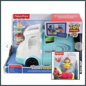 BRAND NEW BOXED FISHER-PRICE LITTLE PEOPLE DISNEY TOY STORY BEAUTY & THE BEAST