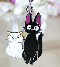 Kiki's Delivery Service Key Ring Jiji Lily School Bag Tag Studio Ghibli Cat
