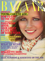 Harpers Bazaar Magazine 1977  30 Year Old Cheryl Tiegs on Cover  Hutton Berenson