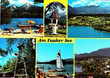 Am Faaker See, Ansichtskarte, 1987 gelaufen