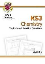 KS3 Chemistry Topic-Based SATs Practice Multipack - Levels 5-7 by CGP Books...