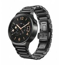 Huawei W1 Active Smartwatch with Plated Stainless Steel Strap -Black