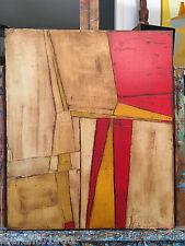 """FOUGERAND.LAURENT """" Marche """" _huile sur toile  _ 55 cm x 46 cm"""