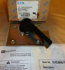 Eaton 314C386G02 Slide Plate Handle Mechanism For Visi Flex Deion Switch NEW