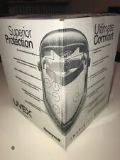 UVEX Bionic Face Shield S8500 Honeywell Clear Polycarbonate New Sealed in Box