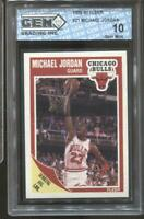 1989-90 Michael Jordan Fleer #21 Gem Mint 10 Chicago Bulls HOF