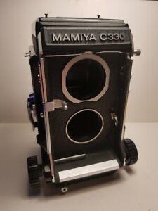 MAMIYA C330 Professional TLR medium format    Body and waist finder please read