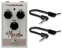 New TC Electronic El Mocambo Overdrive Effects Pedal w/ Patch cables.