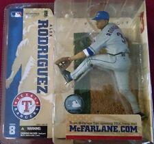 2004 McFarlane Baseball MLB Series 8 Alex Rodriguez Gray Variant #51